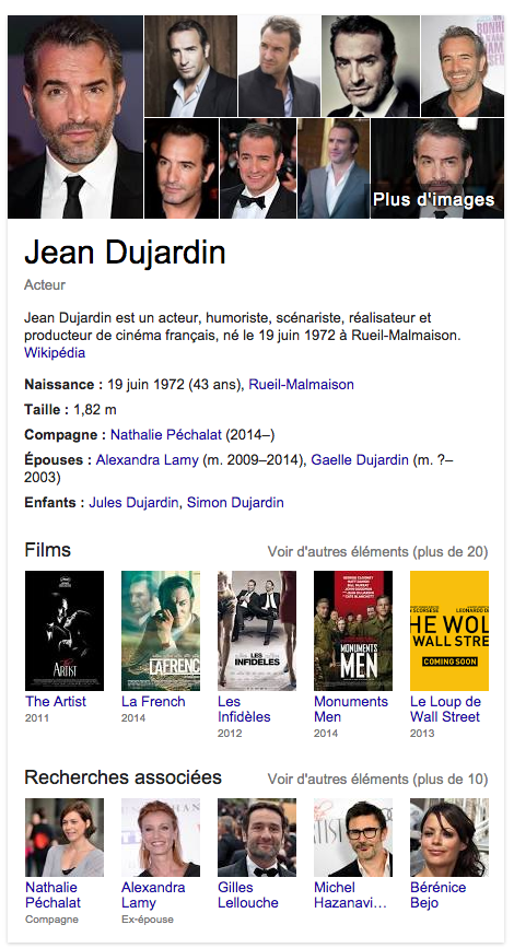 knowledge-graph-jean-dujardin