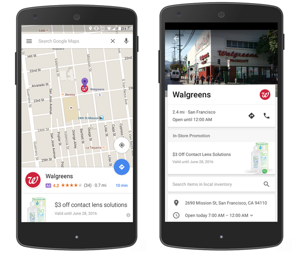 google-maps-annonces-adwords