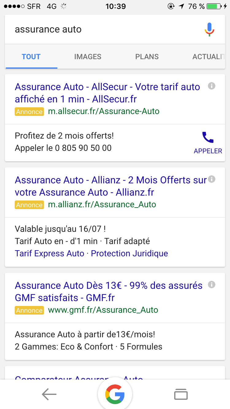 Cest Officiel Google Déploie Les Blocs Dannonces Adwords