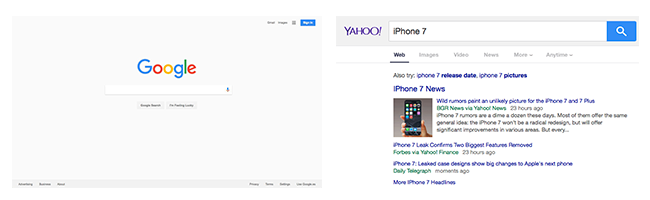 google-yahoo-interfaces
