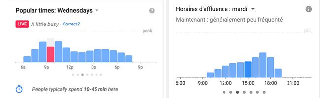 google-maps-horaires
