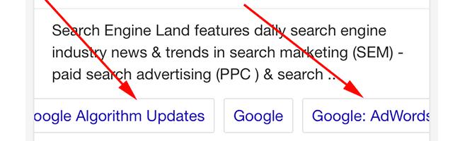 google-design-sitelinks