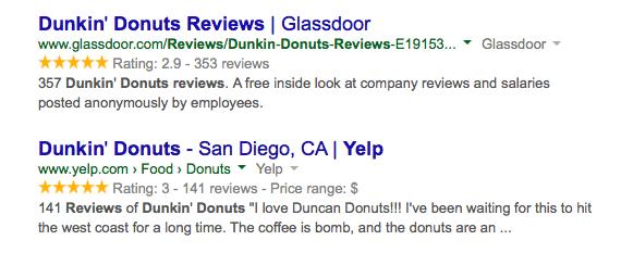 google-yellow-stars