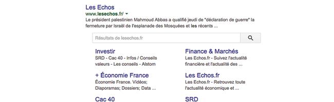 google-balise-searchbox