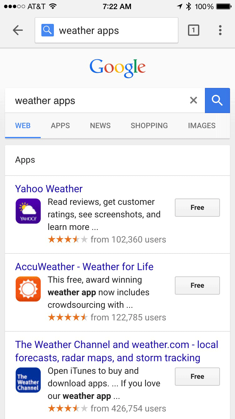 google-mobile-ancien-resultat-app