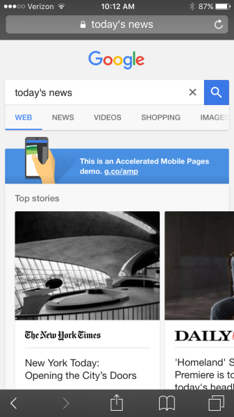 Google-accelerated-mobile-page