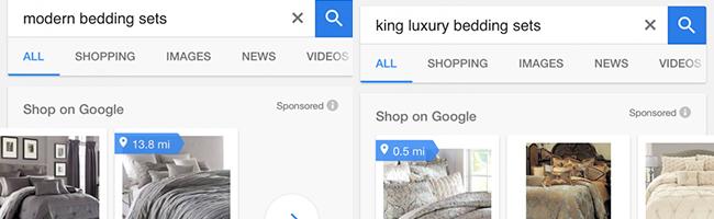 google-pla-distance