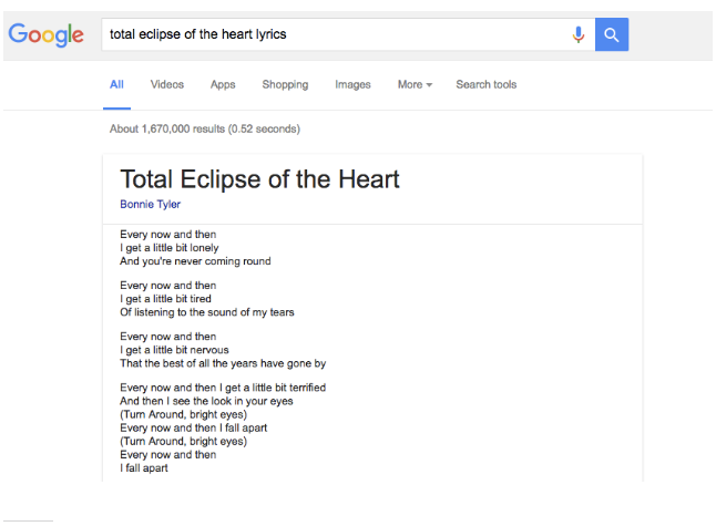 google-lyriques-serp