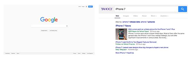 google-yahoo-interfaces
