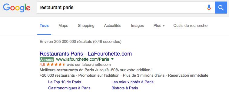 google-etoile-notation