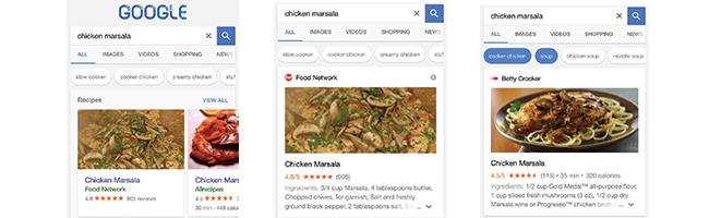 google-recherche-recette-mobile
