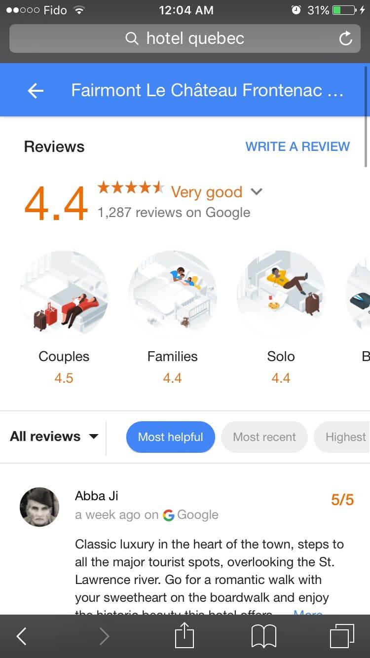 google-avis-locaux