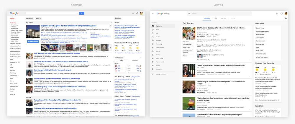 google-actualites-interface