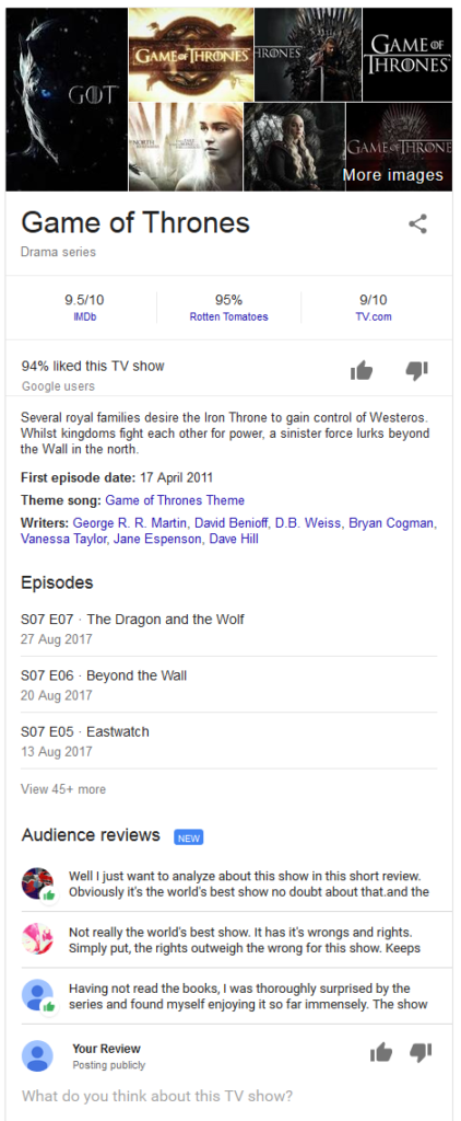 google-audience-reviews