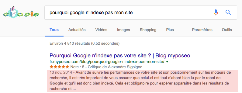 google-taille-snippets