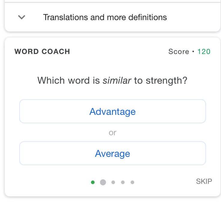 Google-Word-Coach