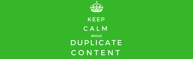 Google-duplicate-content
