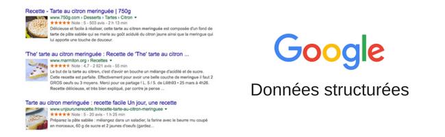 google-donnees-structurees-classement