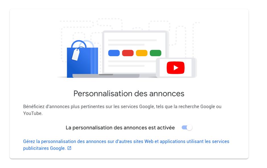 google-personnalisation-annonces