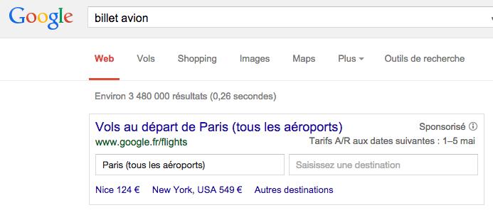 billet-avion-resultat-google