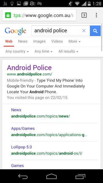 google-SERP-mobile