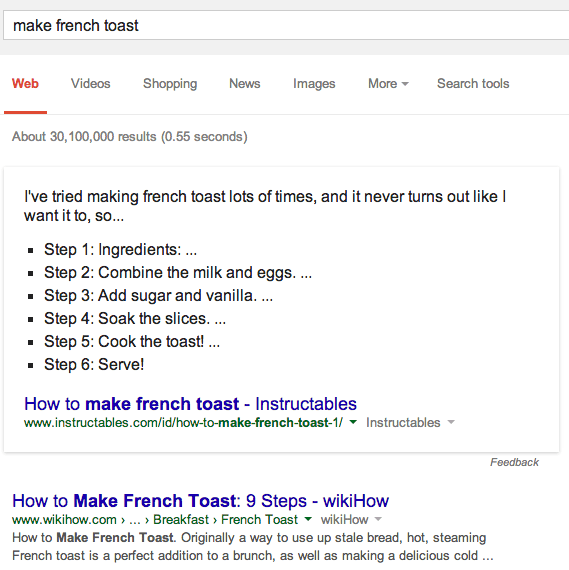 knowledge-graph-make-french-toast