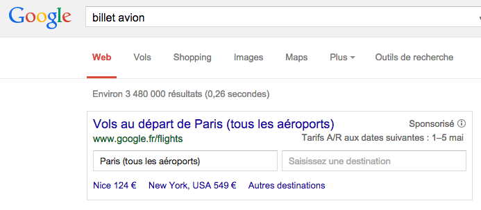billet-avion-resultat-google