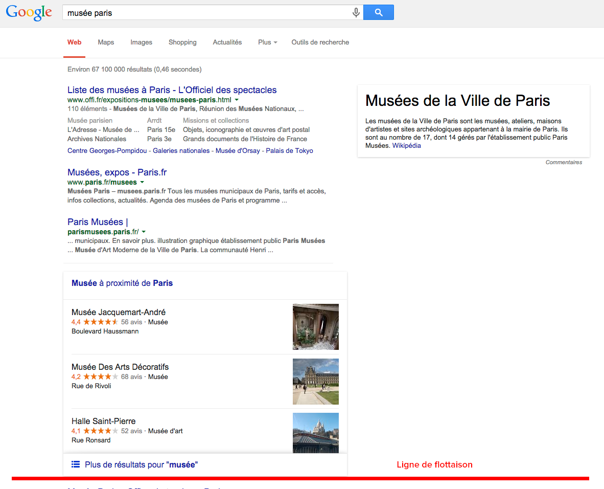Nouvel affichage des r sultats de google local en france for Site de jardinerie en ligne