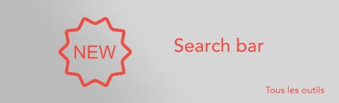 Ajout d'une barre de recherche multicritères