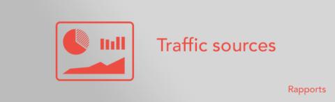 Google Analytics – comparer les sources de trafic